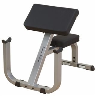 Body solid preacher curl bench fitness superstore