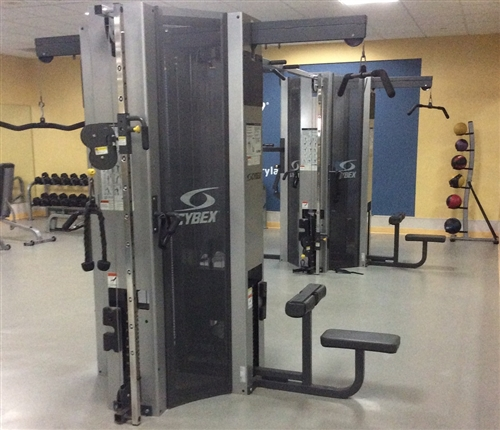 Cybex 8 stack jungle gym fitness superstore strength equipment