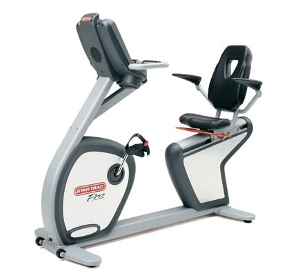 Star Trac Pro Recumbent Bike 6430 Used Workout Equipment