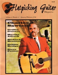 Flatpicking Guitar Magazine, Volume 2, Number 2, January / February 1998 - Charles Sawtelle