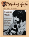 Flatpicking Guitar Magazine, Volume 2, Number 5, July / August 1998 - Clarence White: SOLD OUT OF HARDCOPY