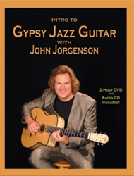 Intro to Gypsy Jazz Guitar DVD / CD / Book Set - John Jorgenson