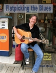 Flatpicking The Blues Book / DVD / CD - Brad Davis