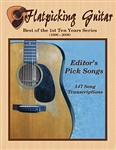 Flatpicking Guitar Magazine: Best Of 10 Years PDF, CD-ROM - Editor's Picks Tunes