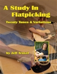 Study in Flatpicking - Jeff Troxel - Book / Audio CD
