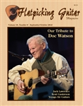 Flatpicking Guitar Magazine, Volume 16, Number 6 September / October 2012