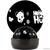 "Mickey Mouse Fantastic Flurryâ""¢ LED Projectionâ""¢ Rotating Tabletop Light"