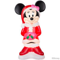 Minnie Mouse Lighted Yard Decor