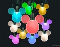 "Color Whirlâ""¢ LED Light String featuring Disney Mickey Mouse"