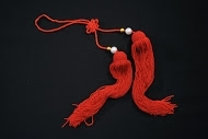Collapsible Sword Tassel Red