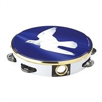 10 inch (8 pairs jingles) DOVE tambourine. ON SALE