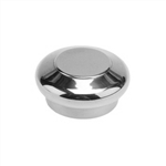 Top nut for tubular handle - Chrome