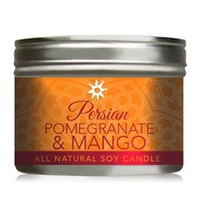 Youngevity Persian Pomegranate Mango Soy Candle
