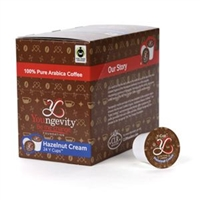 Youngevity Healthy Coffee Y Cups Hazelnut Cream