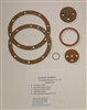 AGP2E- Auto-Vac gasket set for Early P2 to 1 JS