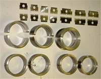 E84772set- Main bearing set with shims