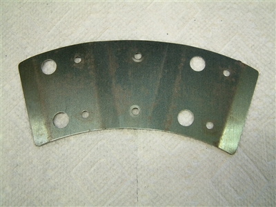 Spring steel plate for clutch lining