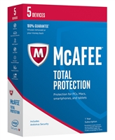 McAfee Total Protection for 5 Devices