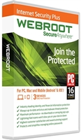 Webroot Internet Security Plus 3-Devices