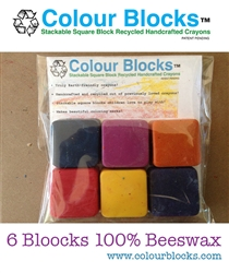 Beeswax crayons by Colour Blocks®