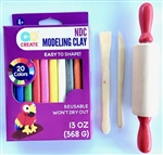 Color Modeling Clay & Tools