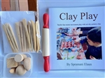 Clay Modeing Set & Book
