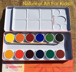 dry watercolor set for kids