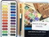Dry Watercolor Artist Set 24 Colors, student grade