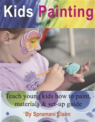 How to teach kids to paint