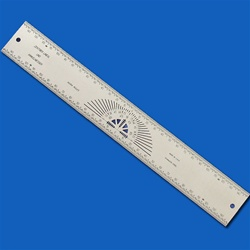 INCRA Precision Specialty Rules - 300mm Centering Rule