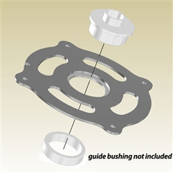 INCRA CleanSweep MagnaLOCK Porter-Cable Guide Bushing Ring