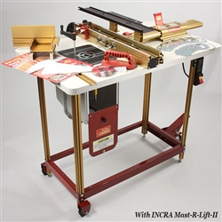 "INCRA Router Fence & Table Combo #3 ""The Works"""