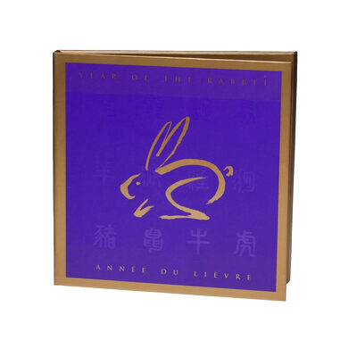 $15 1999 Year of the Rabbit Coin & Stamp Set