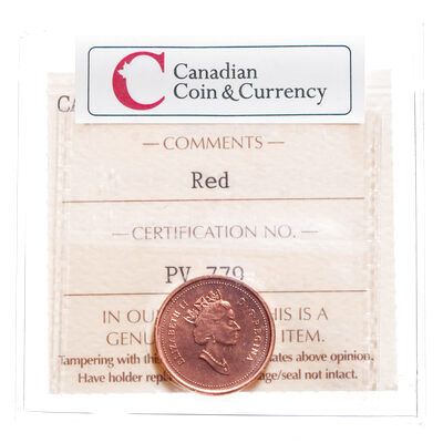1 cent 1998 Red ICCS MS-66