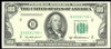 US $100 Federal Reserve Note 1950B* Priest-Anderson green seal New York Non-Certified UNC