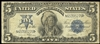 US $5 Demand Note 1899 Speelman-White Blue Non-Certified F-12