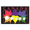 1987 - Present Canadian Year Set Maple Leaves Collector 5 Coin Board