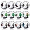 2018 $3 The Thirteen Teachings From Grandmother Moon Subscription - Pure Silver Coin
