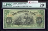 The Dominion Bank $10 1925 Austin R. PMG VF-20