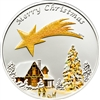 2010 $5 Merry Christmas - Sterling Silver Coin