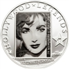 2011 $5 Hollywood Legends: Liz Taylor in Memoriam - Sterling Silver Coin