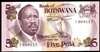 Botswana 5 Pula 1976 Issued note UNC-60