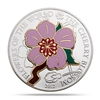 2012 $5 Flowers of the World: The Cherry Blossom (Cook Islands) - Pure Silver Coin