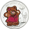 2012 $5 My Lovely Bear - Sterling Silver Coin