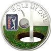 2013 $5 PGA Tour: Hole in One - Pure Silver Coin