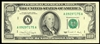 US $100 Federal Reserve Note 1990 Villalpando-Brady Green Non-Certified AU-50