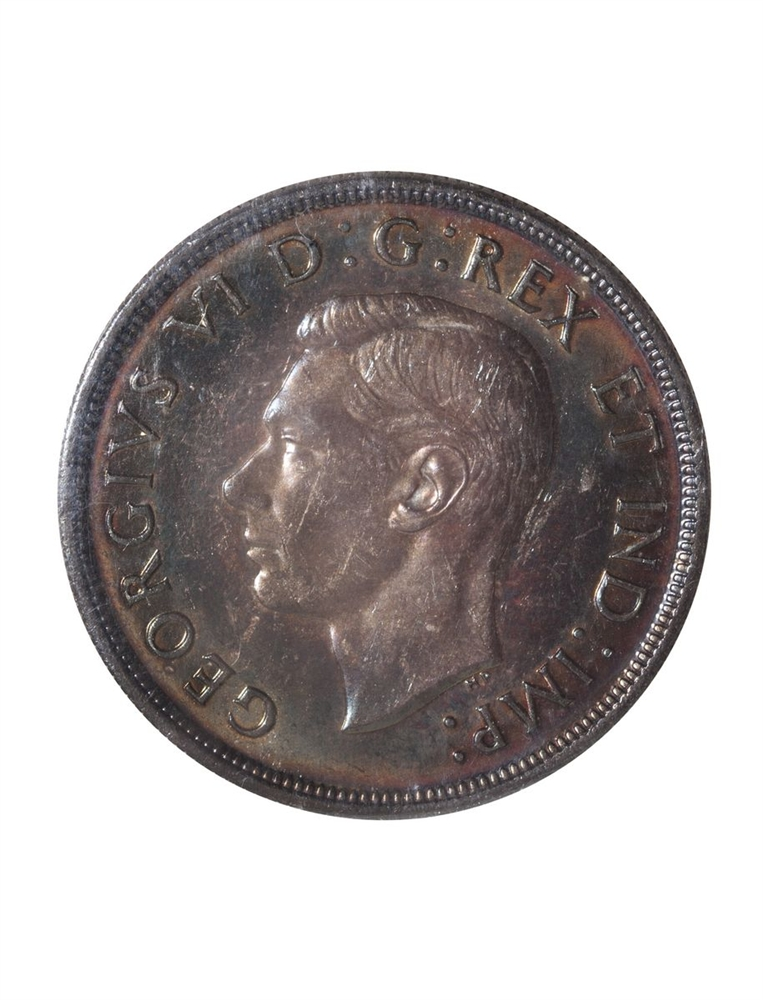 1 Dollar 1947 Ml Iccs Ms 63 Canadian Coins