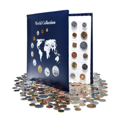 Coins of the World: Kilogram with Display Album