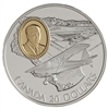 $20 1995 Silver Coin - Fleet 80 Canuck