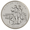 $1 1990 Brilliant Uncirculated Silver Coin - Henry Kelsey Tricentennial